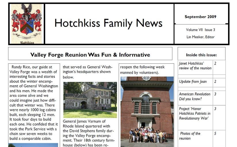 HFA News September 2009